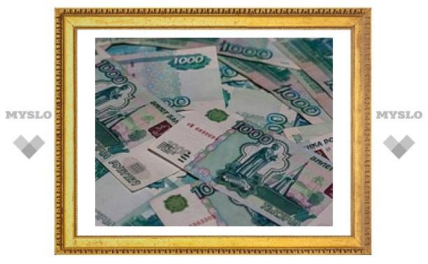 Падение рубля приостановили налоговые выплаты