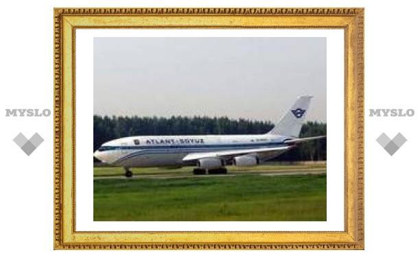 Задержавшийся в Шарм-эль-Шейхе Ил-86 вернулся в Москву