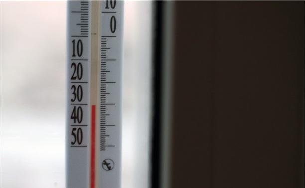 В Тульской области ожидаются сильные морозы