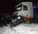 На трассе в Тульской области грузовик протаранил BMW