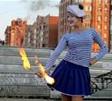 Огненное шоу Дарьи Бегдаш: акцент на работу со зрителем