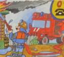 Юным тулякам предлагают нарисовать пожарных