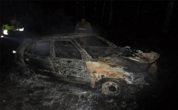 Под Суворовом «Шкода Фабия» вылетела в кювет и загорелась