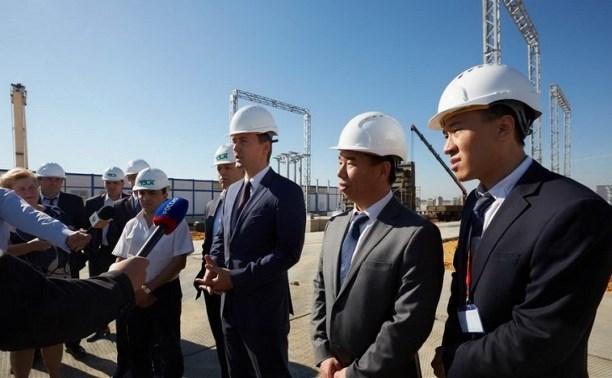 В индустриальном парке «Узловая» началось строительство автозавода HAVAL