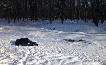 В Центральном парке нашли мертвого лыжника