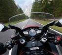 Юный мотоциклист врезался во внедорожник