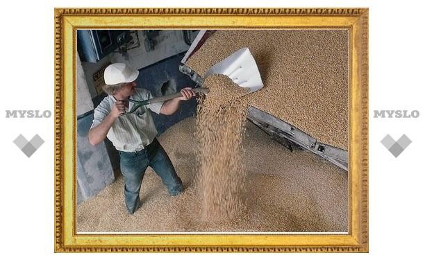 Тульский слесарь украл 15 тонн зерна