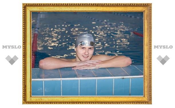 Новомосковский пловец потренировался в сборной России