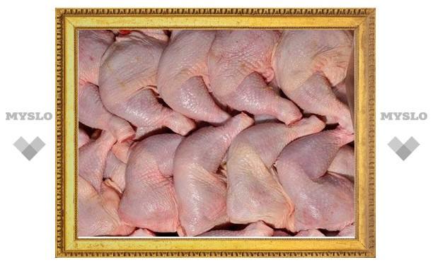 В Туле запретили мороженых кур