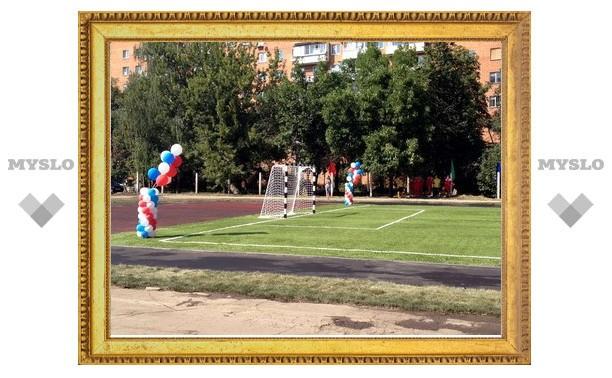 В одном из тульских дворов открылся новый мини-стадион
