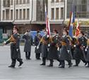 На главной площади Тулы состоялся парад сотрудников органов внутренних дел