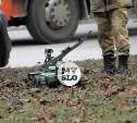 Взрыв на ул. Болдина в Туле: саперы Росгвардии используют робота