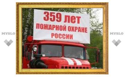 """Тульские пожарные """"замочили"""" школьников!"""