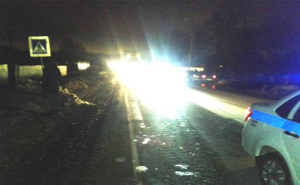 На дороге «Тула-Новомосковск» водитель ГАЗа насмерть сбил пешехода