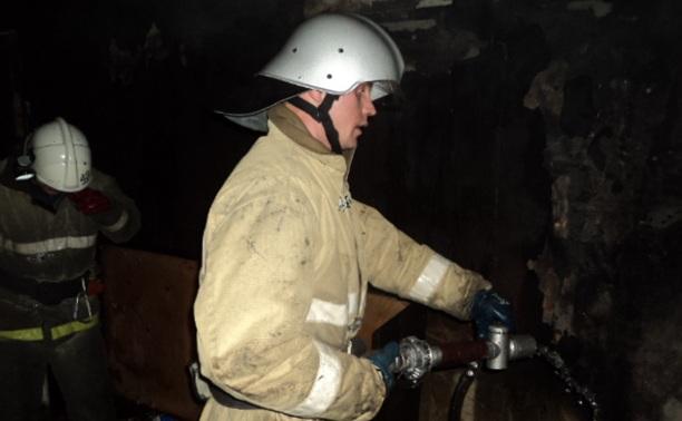 В Тульской области из горящего дома спасли 11 человек