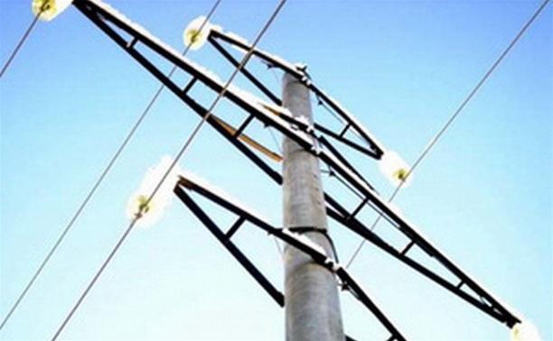 В тульском Заречье без электричества остались 23 дома