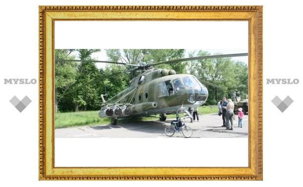 Вертолетный полк отметил юбилей