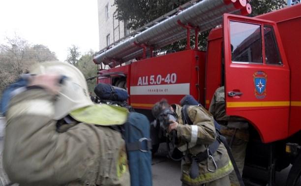 Тульские пожарные спасли инвалида и его собаку из горящей квартиры