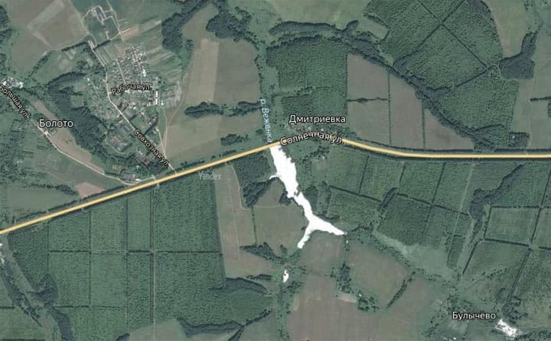 В Белевском районе построят новый мост через реку Веженка