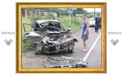 В деревне Житово Щекинского района произошло серьезное ДТП