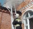 В Туле на улице Летней в частном доме случился пожар