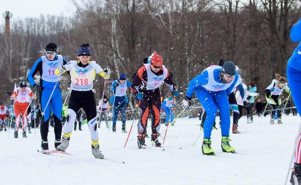 В Ясной Поляне прошли массовые соревнования по лыжным гонкам