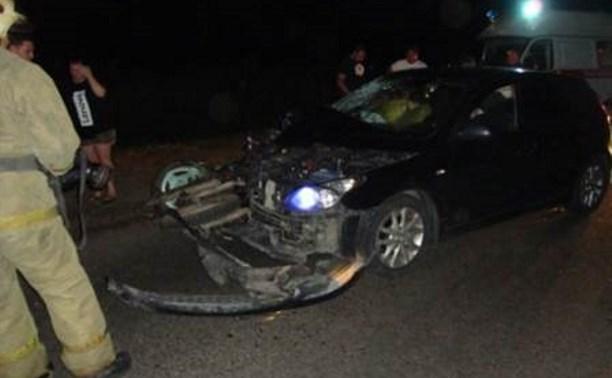 В аварии в Ефремовском районе погиб один человек