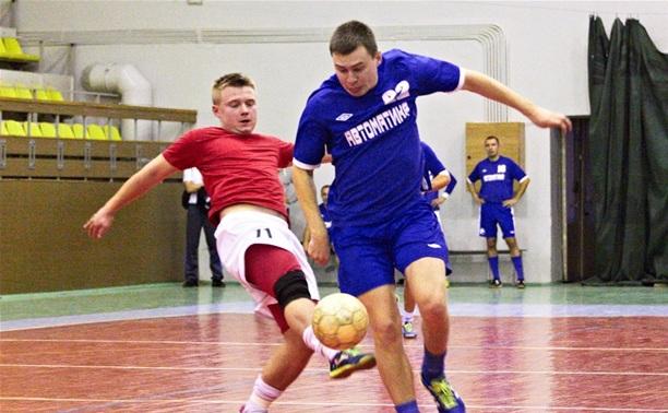 В Тульской лиге любителей футбола сыграны очередные матчи