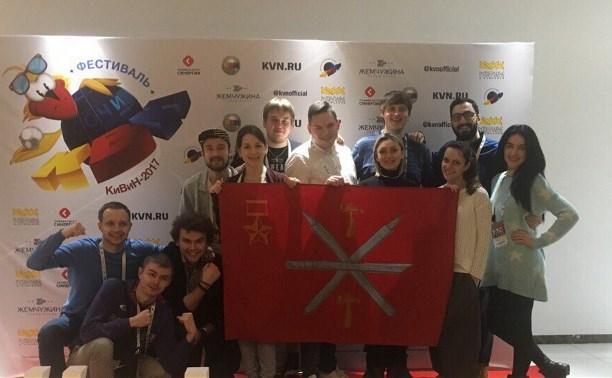 Команда «Сборная Тульской области» вышла в Премьер-лигу КВН