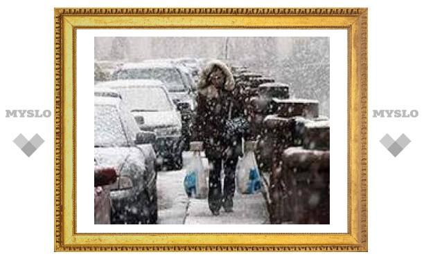 Тулу ждут дожди и снегопады