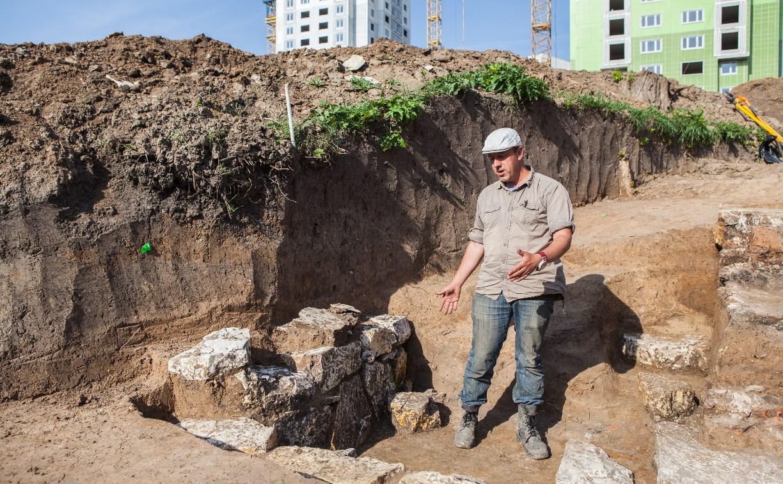 В Туле при строительстве дороги обнаружили древнее поселение