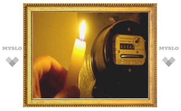 В Туле на прошлой неделе 54 котельных остались без света