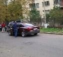 На улице Вересаева столкнулись «Ауди» и «Мерседес»