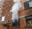В Скуратово потушили заброшенное училище