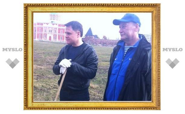 «На субботник вышли те люди, которые хотят что-то сделать для своего города», - Владимир Груздев.