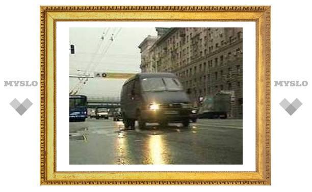 На проспекте Мира в Москве столкнулись шесть автомобилей