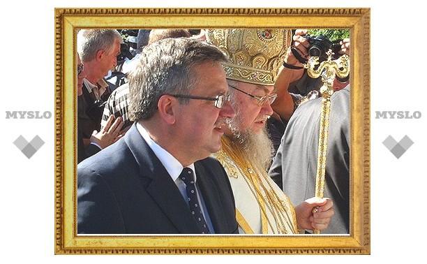 На Преображение Господне президент Польши впервые посетил гору Грабарку