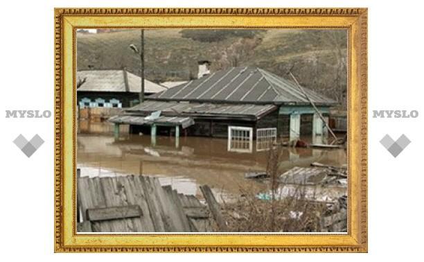 В Тульской области паводок отрезал от мира 60 человек