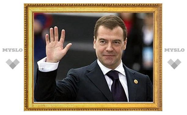 Владимир Груздев обсудил с Дмитрием Медведевым, как улучшить жизнь туляков