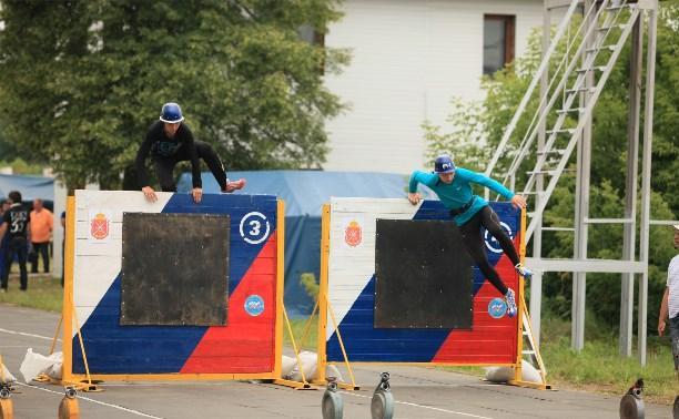 Туляки завоевали «бронзу» на соревнованиях МЧС по пожарно-прикладному спорту
