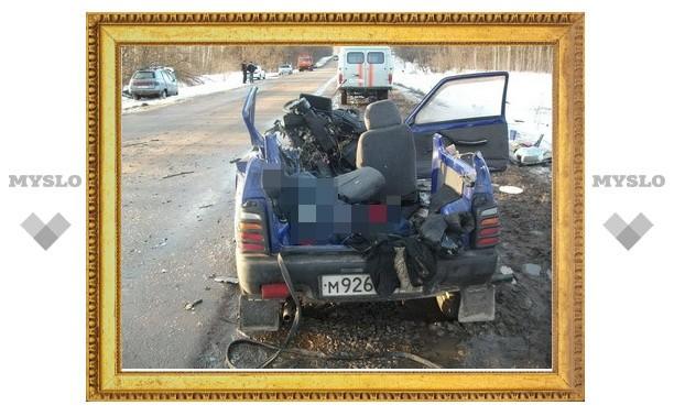 Под Тулой «Ока» протаранила «Ваз»