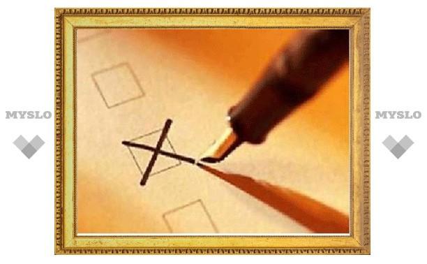 В Узловой Тульской области проходят досрочные выборы Собрания депутатов