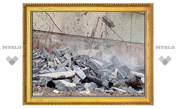 В Тульской области при разборе здания погиб подросток