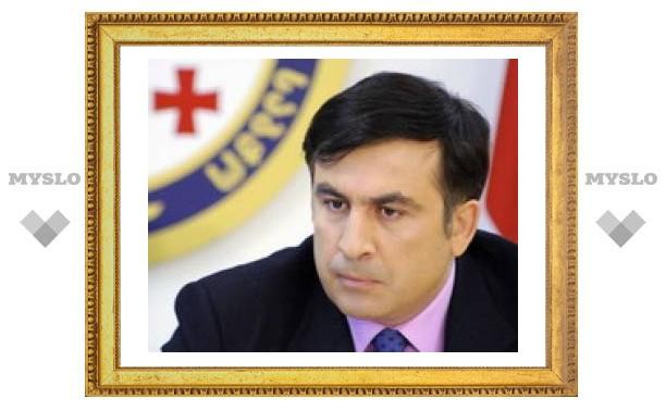 Саакашвили винит Россию в разжигании войны и требует от Запада реагировать жестче