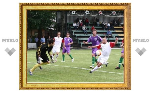 Тульский футбол отметил 100-летний юбилей