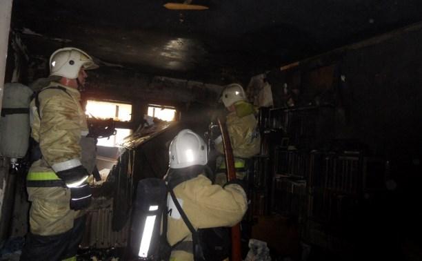 При пожаре на ул. Лейтейзена пострадал мужчина