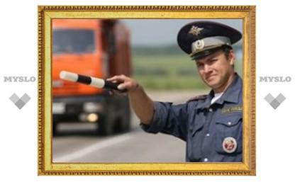 Тульский гаишник стал лучшим в России