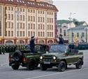 На площади Ленина прошла генеральная репетиция парада Победы