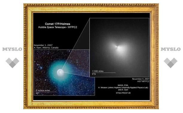 Ученые почти разгадали загадку кометы Холмса