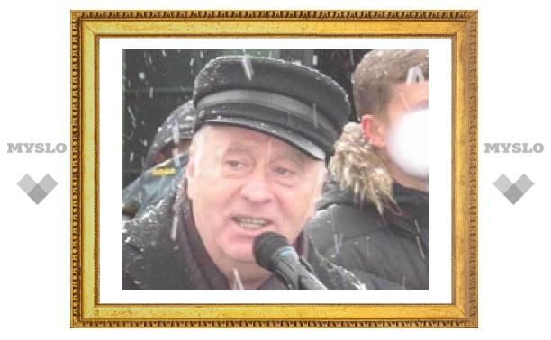 """Жириновский в Туле: """"Ваш город должен купаться в деньгах!"""""""